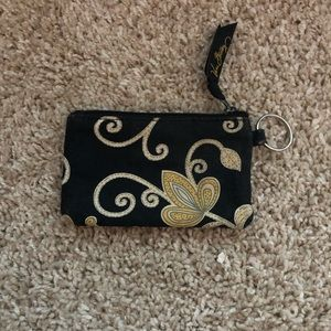 Vera Bradley Yellow Bird Coin Purse - RETIRED